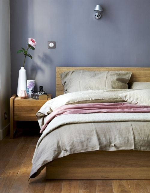 Blue Bedroom Furniture: Periwinkle Blue Bedroom-- Colors Are Very Calming