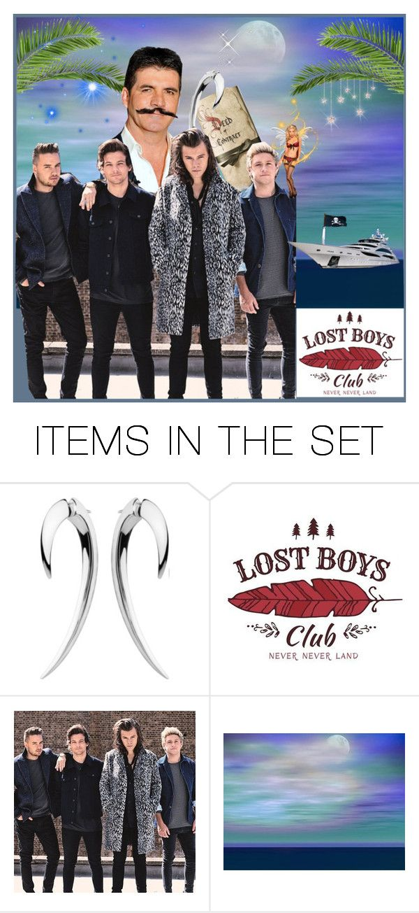 """""""Captain Hook and the Lost Boys"""" by krusie ❤ liked on Polyvore featuring art and modern"""