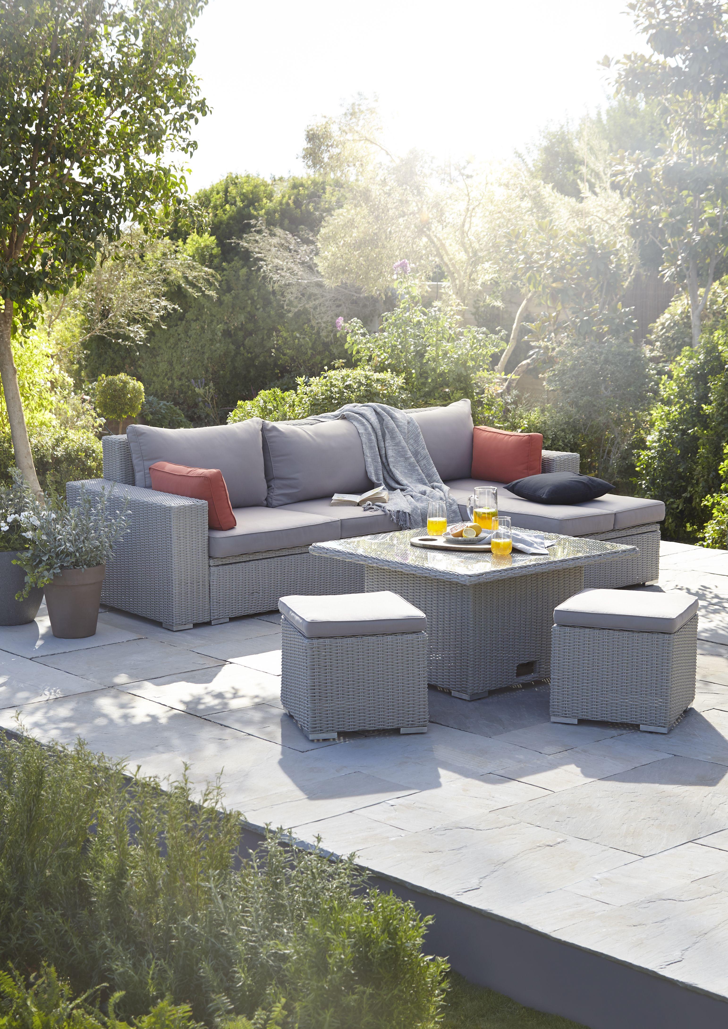 Zestaw Modulowych Mebli Ogrodowych Gabbs Modulowe In 2021 Outdoor Decor Outdoor Sectional Home Decor