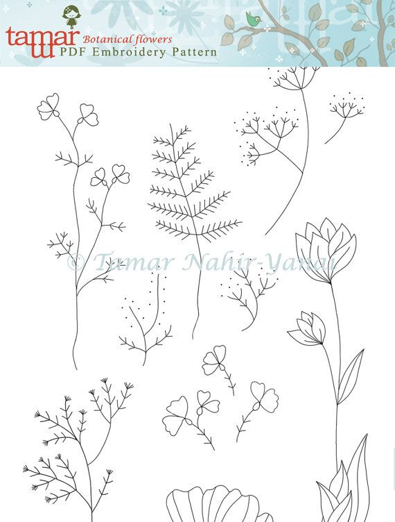 PDF File, Embroidery Pattern, Needlecraft Design, Instant Download ...