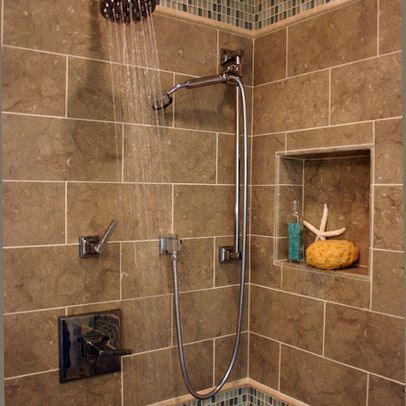 two shower heads design, pictures, remodel, decor and