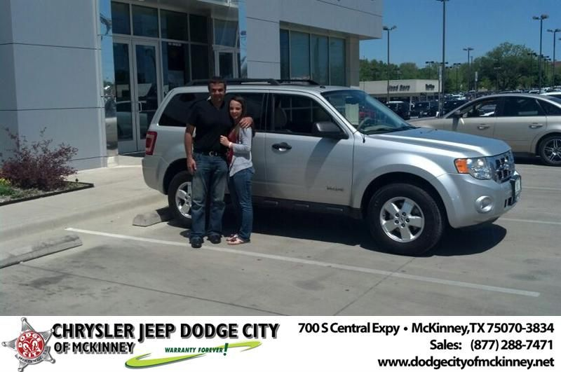 Congratulations To Ayman Ghousheh On Your Ford Escape Purchase From Bobby Crosby At Dodge City Of Mckinney Newcarsmell New Car Smell Dodge City Dodge
