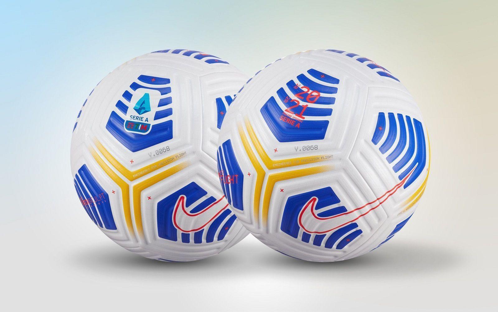 Nike Serie A 2020 2021 Ball Superfanatix Com In 2020 Soccer Pink Football Soccer Ball