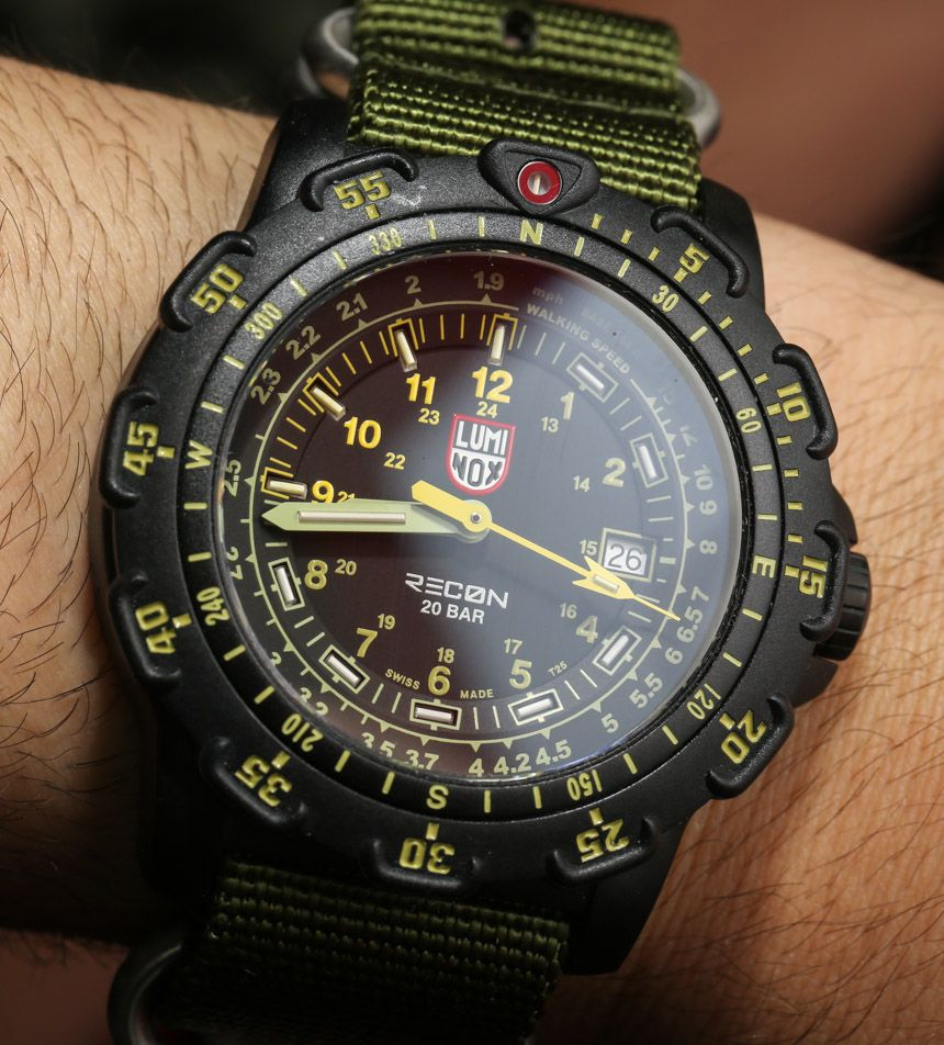 7d54aa9924a Luminox Recon NAV SPC And Point Man Watches Hands-On