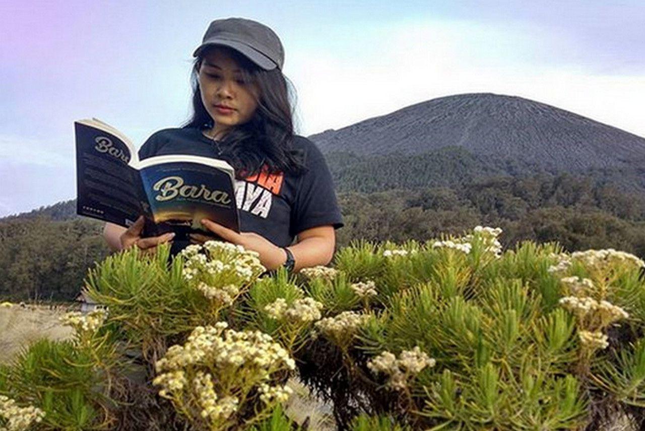 Foto Bunga Edelweis Di Gunung Ciremai 7 Gunung Di Pulau Jawa Dengan Pemandangan Bunga Edelweis Yang Indah Edelweiss 5 Gunung Deng Bunga Gambar Pemandangan