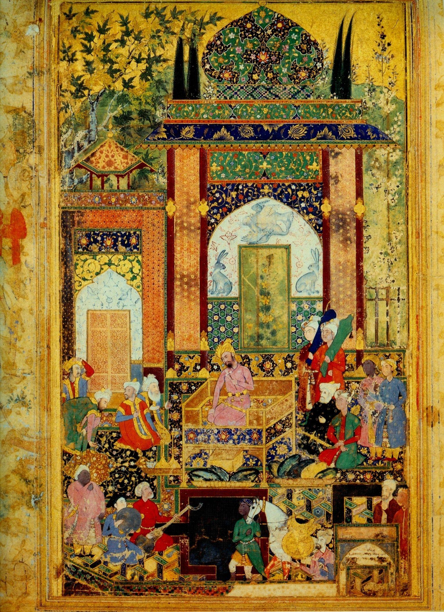 The Mughal Emperor Akbar