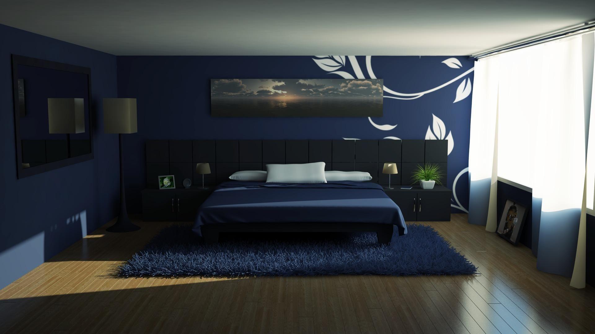 Beautiful Bedroom Design Hd Images Blue Room Decor Bedroom Blue