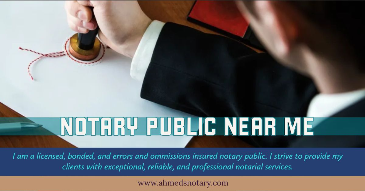 Notary Public Near Me Notary Public Notary Public Notary