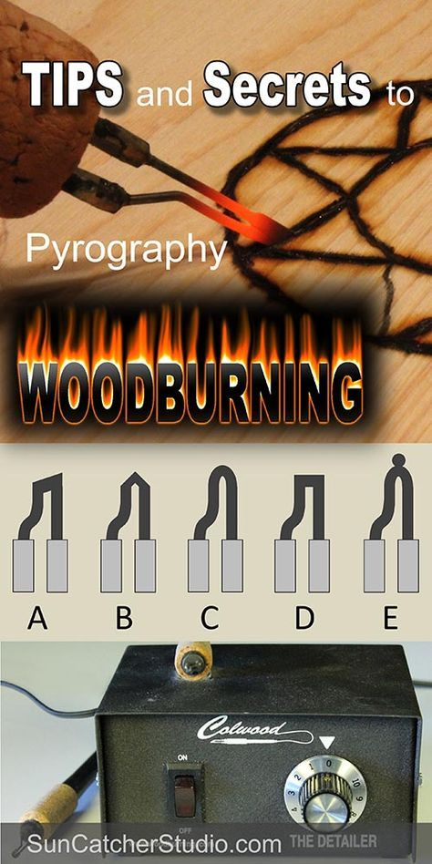 Pyrography  Wood burning Tips and Tools