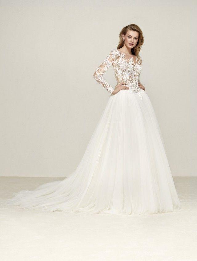 Long Sleeve Wedding Dresses   Wedding dress, Weddings and Belle bridal