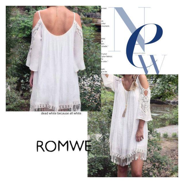 """ROMWE"" by smokingtonight ❤ liked on Polyvore"