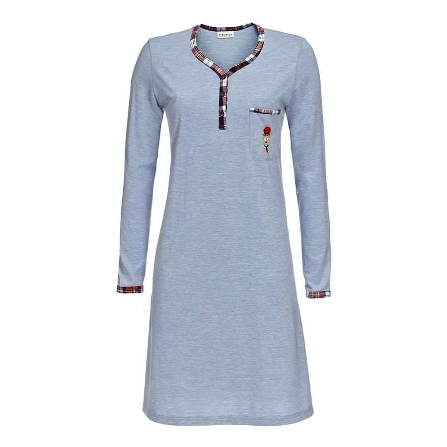 This youth sleeping chemise is available in size M and L.Ringella is a German brand that stands for good raw materials ens their products.See camisoles to sleep.