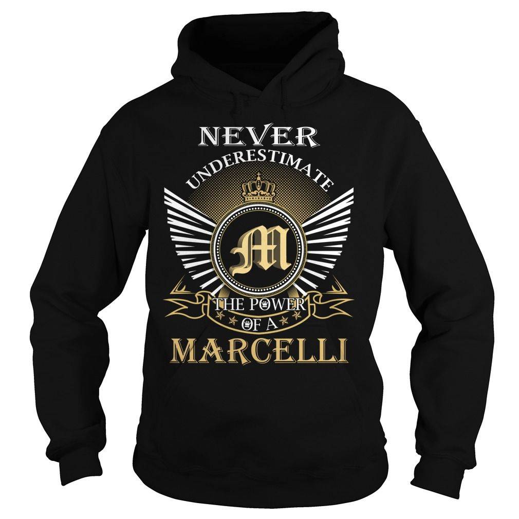 Never Underestimate The Power of a MARCELLI - Last Name, Surname T-Shirt