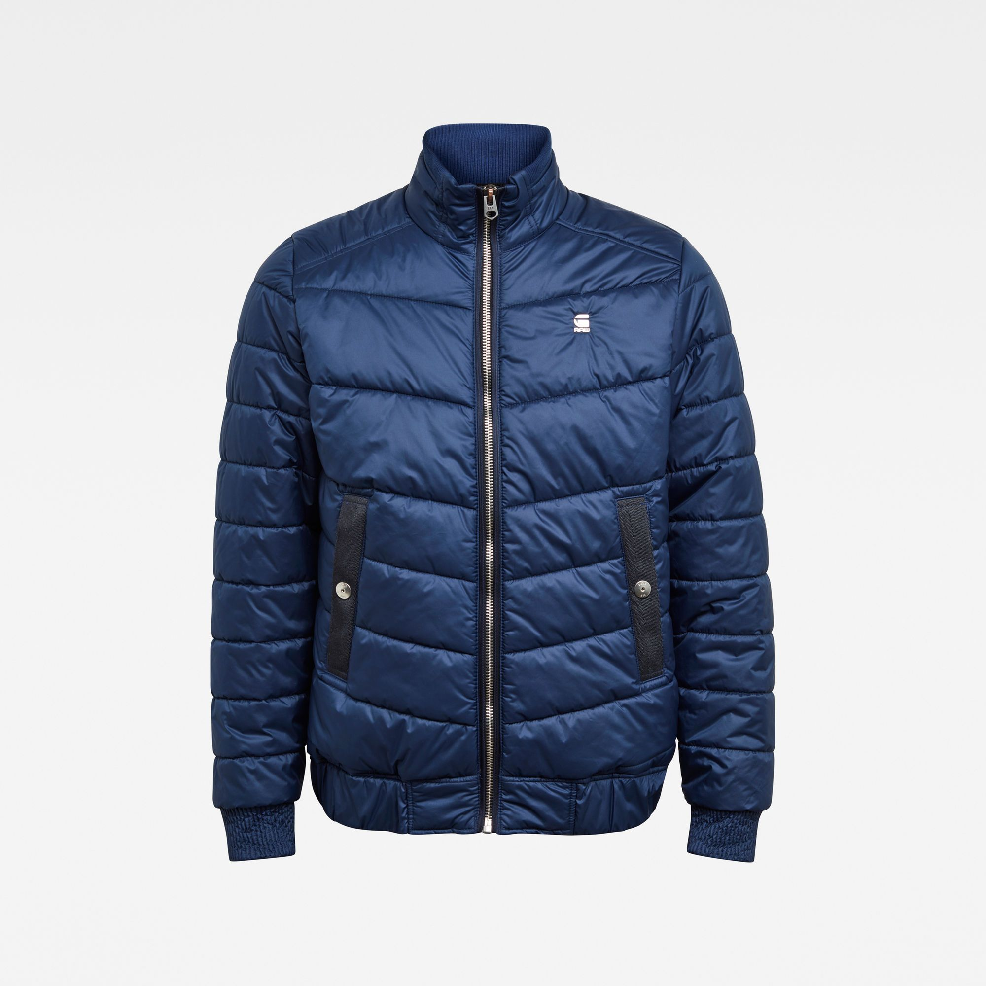 Meefic Quilted Overshirt in 2020   Raw clothing, Denim