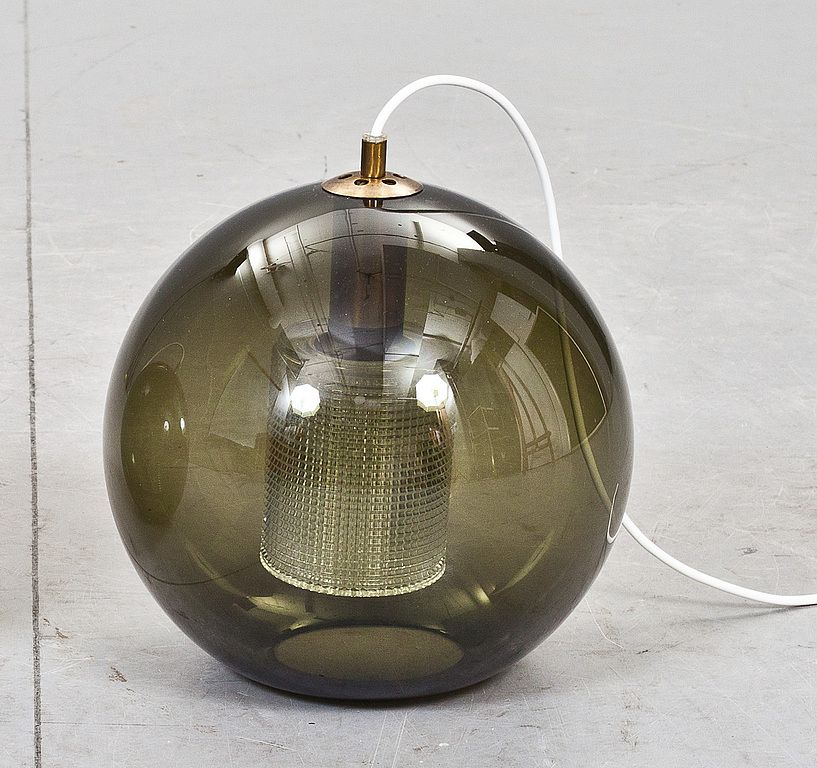 """Golvlampa Carl Fagerlund - Celing lamp""""RD 1405"""" by Carl Fagerlund for Orrefors My Swedish vintage design ISO's"""
