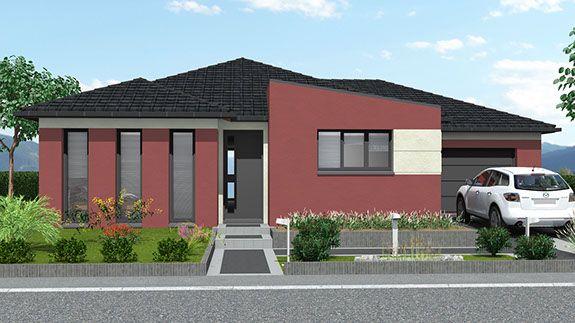Maisons plain pied Aménagement garage Pinterest - prix construction d un garage