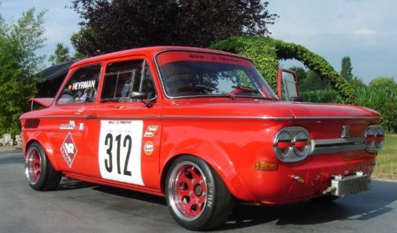 1969 Nsu Tt Vintage Race Car For Front