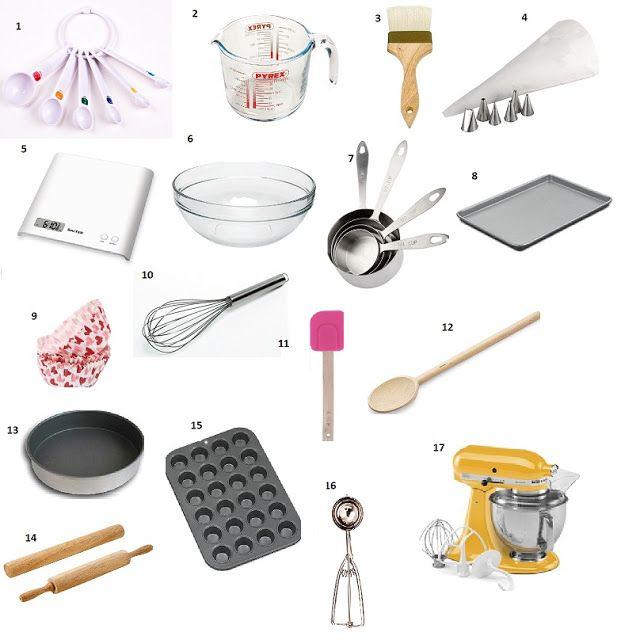 Passionatemae Kitchen Essentials Part 1 Basic Baking Tools