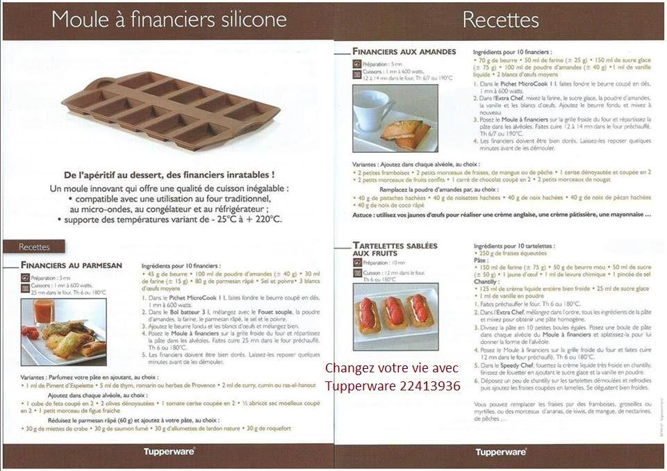 Moule silicone à financier