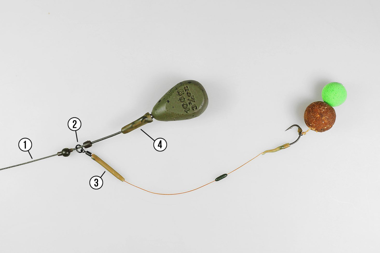 10x Karpfen Heli Beads Zum Selbst Binden Für Chod Rigs Und Helikopter Rig Fishing Equipment
