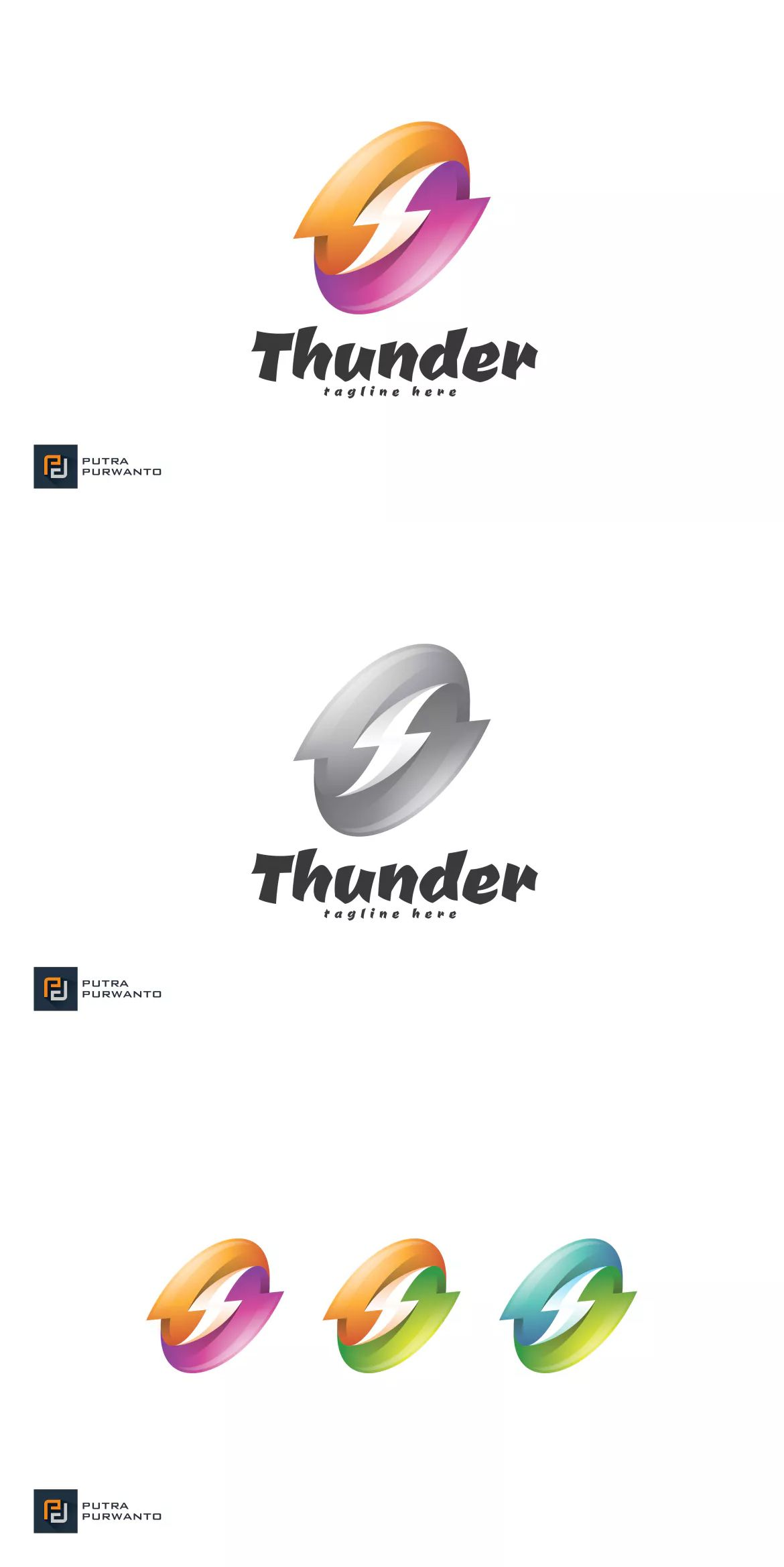 Thunder Logo Template Ai Eps Download Logo Templates Templates Branding Design Logo