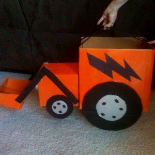 construction valentine card box idea @Summer Olsen Olsen Olsen Olsen Olsen Phelps - for Syd's boys
