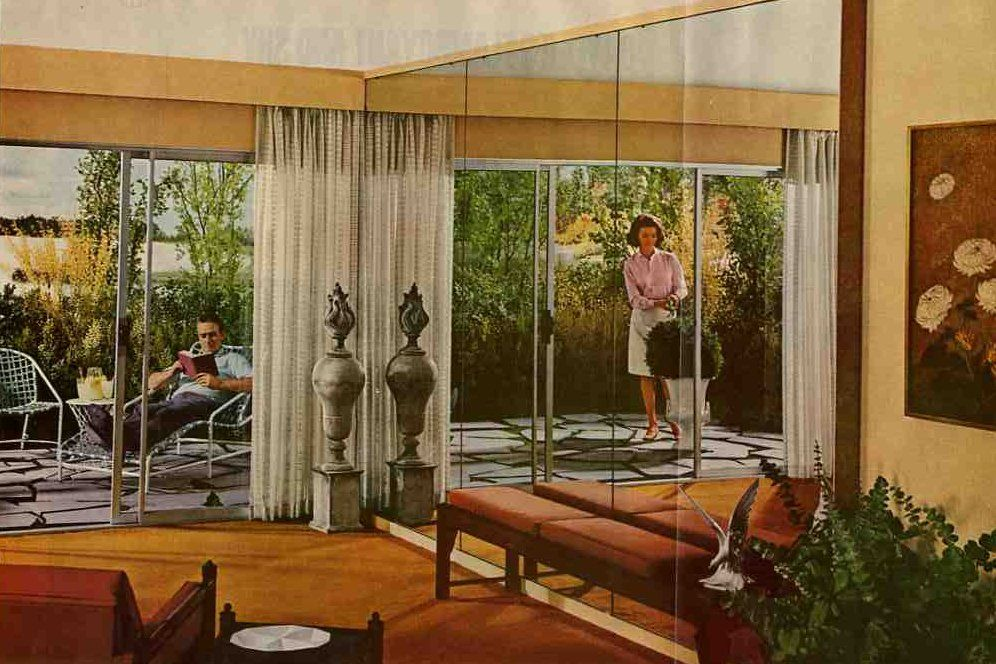 Affordable Pinch Pleat Drapery Sources From California Kathy Modern Window Treatments Retro Renovation Mid Century Modern Curtains