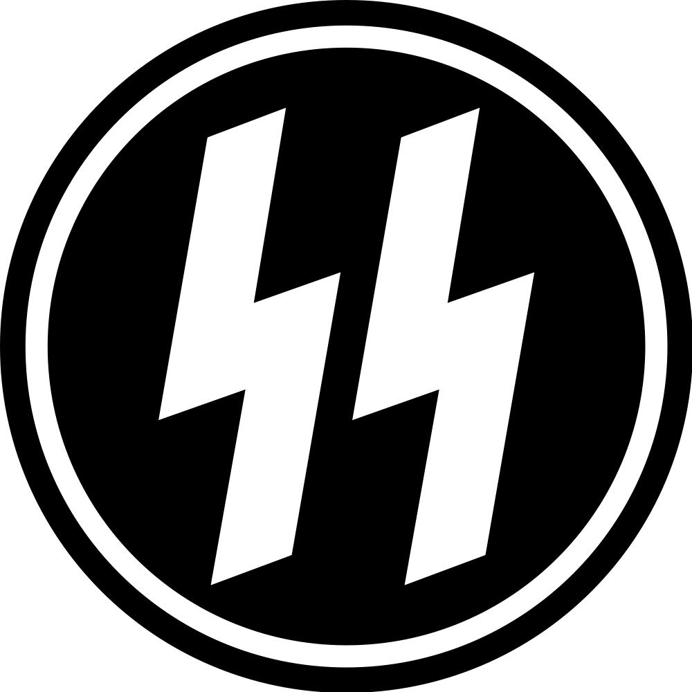 While unfortunately this has bad connotations the design is still schutzstaffel abzeichen the sigrunes badge of the ss protection squads biocorpaavc Image collections