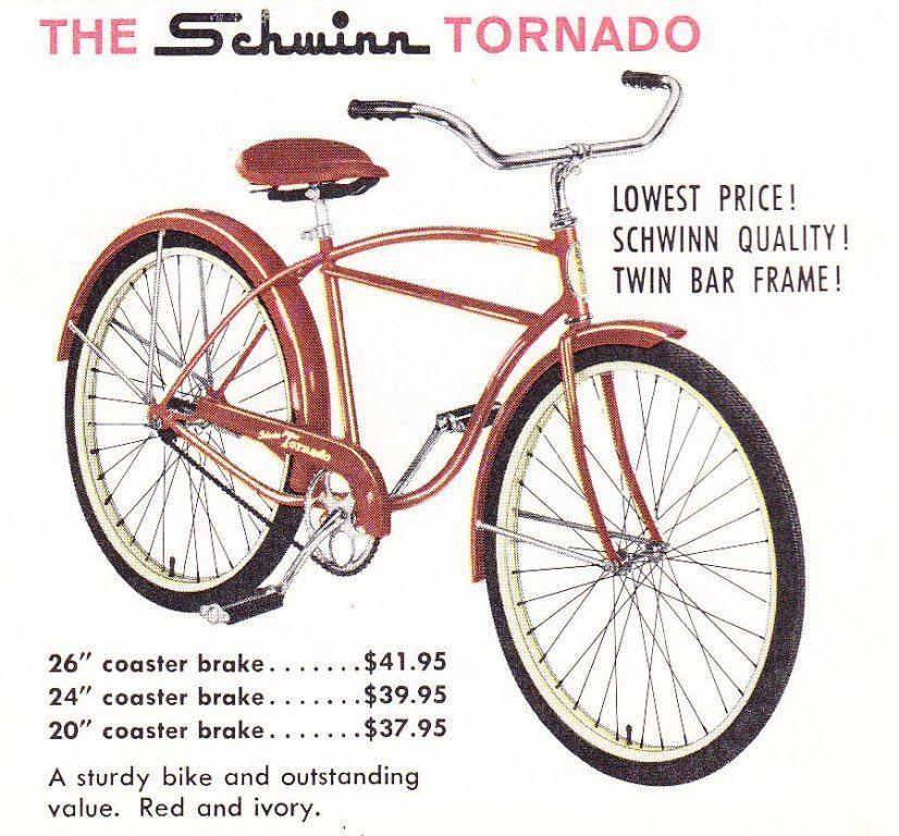 1960 Schwinn Catalog Schwinn Cool Bikes Twin Frame