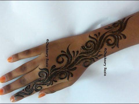 Henna Mehndi Nail Art : Gulf style henna mehndi by toronto on artist of mocha