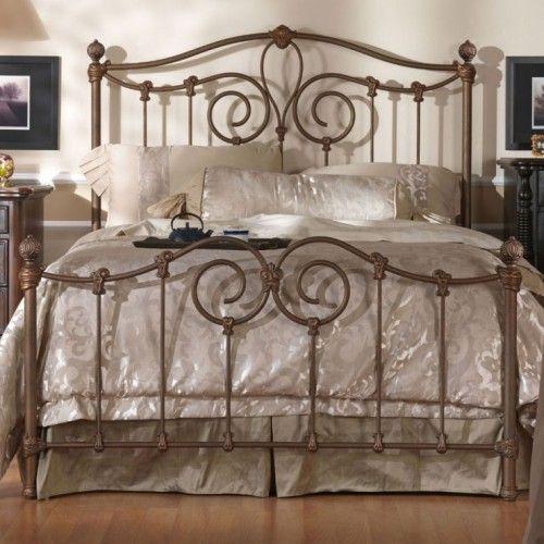 Olympia iron bed by wesley allen camas hierro forjado - Camas antiguas de hierro ...