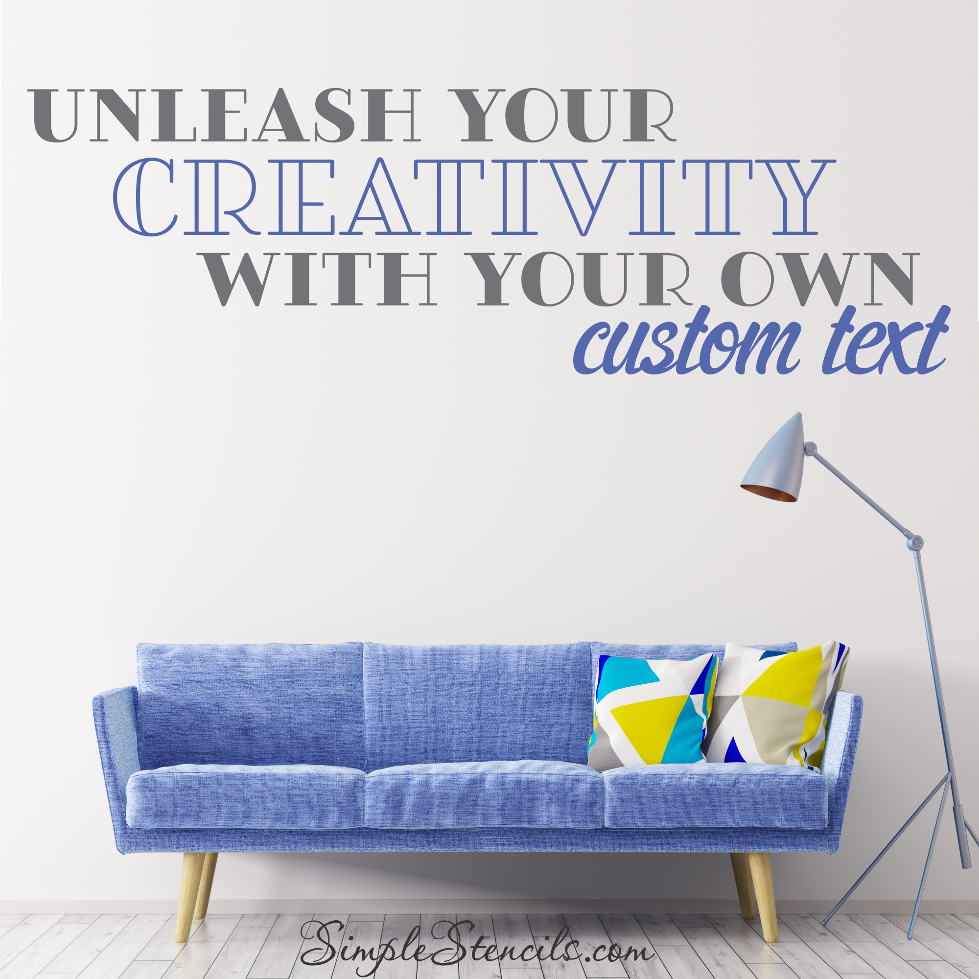 Sofa Easy Lyrics Online Design Center Lets You Customize Your Own Wall Quotes