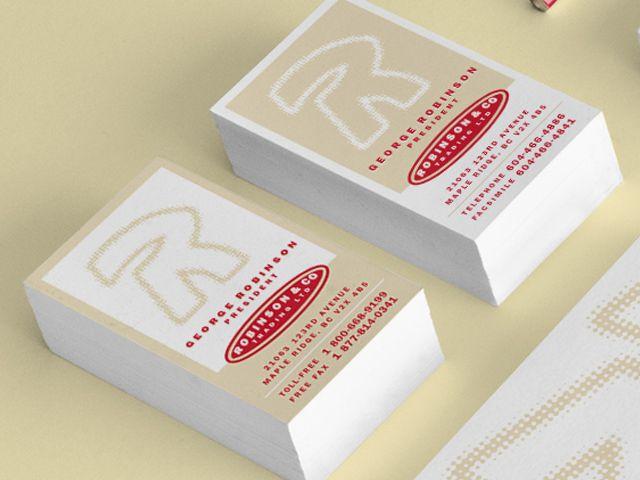 Branding:Robinson Identity - Flink Creative