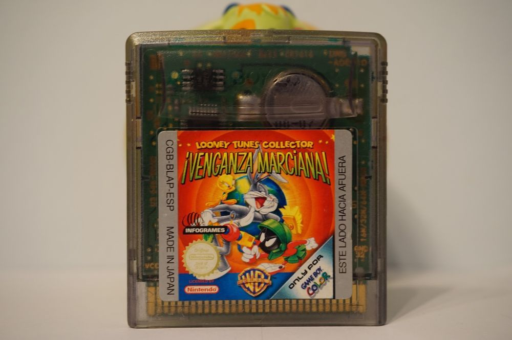 Venganza Marciana Looney Tunes Collector Gameboy Color Nintendo Game Boy Gbc Venganzamarcianalooneytunescollector Gameboy Retro Gaming Looney Tunes
