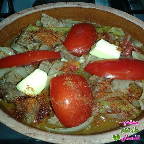 من مطبخي طاجن اللحمة بالبطاطس في الفرن طريقة عمل لحم بالبطاطس بالفرن طاجن لحم بالبطاطس بالصور منتدي حلاوتهم النسائي Food Breakfast Eggs
