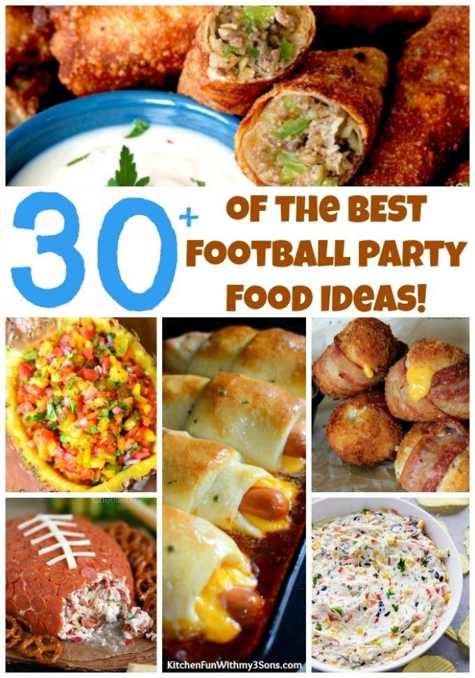 Over 30 of the Best Football Party Recipes Football