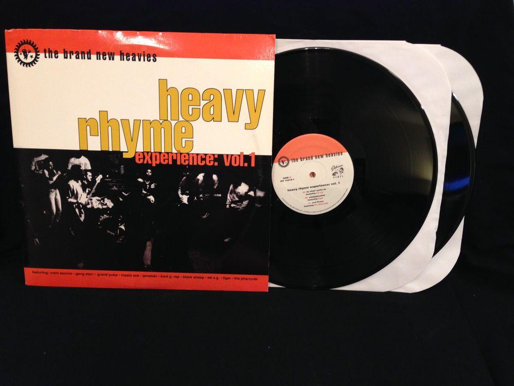 The Brand New Heavies Heavy Rhyme Experience Vol 1 Lp Original Vinyl Record 92 Vinyl Records Records Lp Vinyl