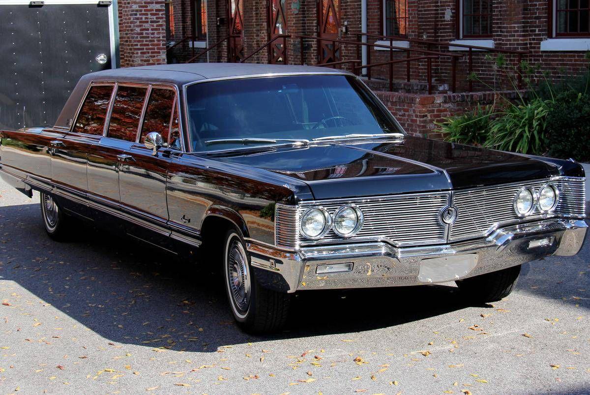 1967 68 Imperial Limousine Chrysler Imperial Chrysler Chrysler Cars