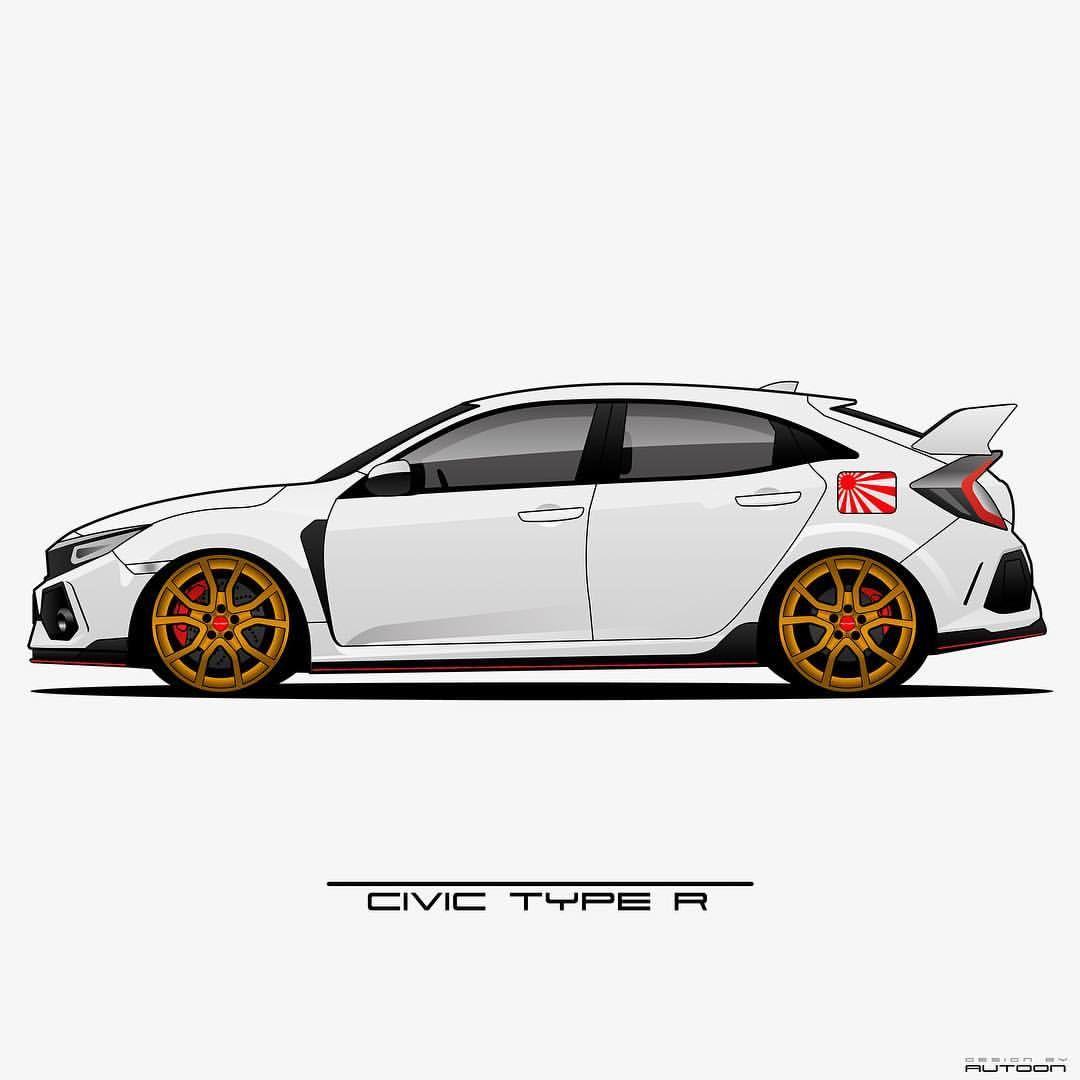 Autoon Su Instagram Civic Type R Silas Fk8 Civictyper Hondacivic Honda Civic Typer Jdm Fk8 Vtec Honda Civic