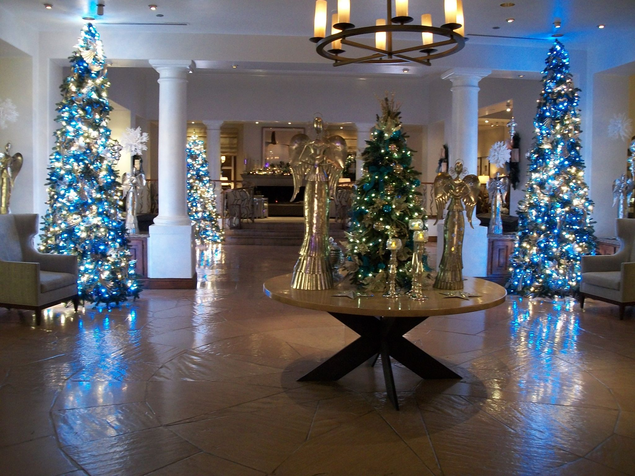 scottsdale princess resort 2010 lobby christmas lights pinterest