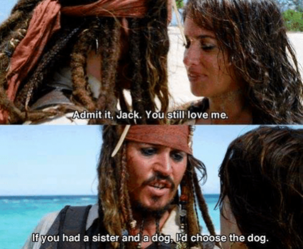 Just 19 Times Captain Jack Sparrow Was Actually A Hilarious Masterpiece
