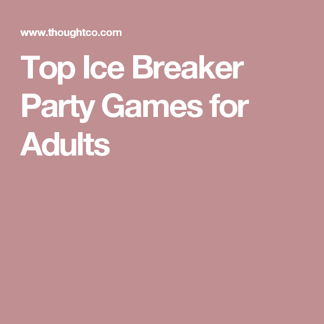 Top Ice Breaker Party Games for Adults