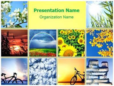 Four Seasons Powerpoint Template Is One Of The Best Powerpoint