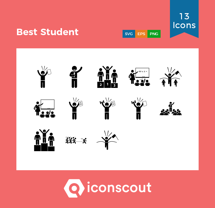 Download Best Student Icon Pack Available In Svg Png Eps Ai Icon Fonts Icon Pack Icon Icon Font