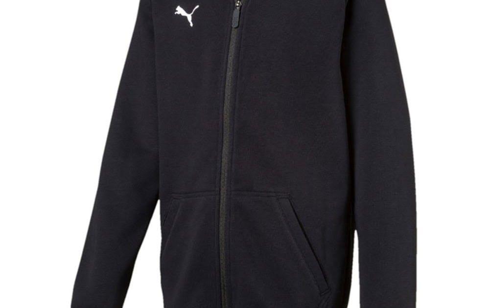 Puma Liga Casual Long Sleeve Hoody Jacket Jr - Vestes course pour Enfant  Unisexe - Noir a41c60d2dd