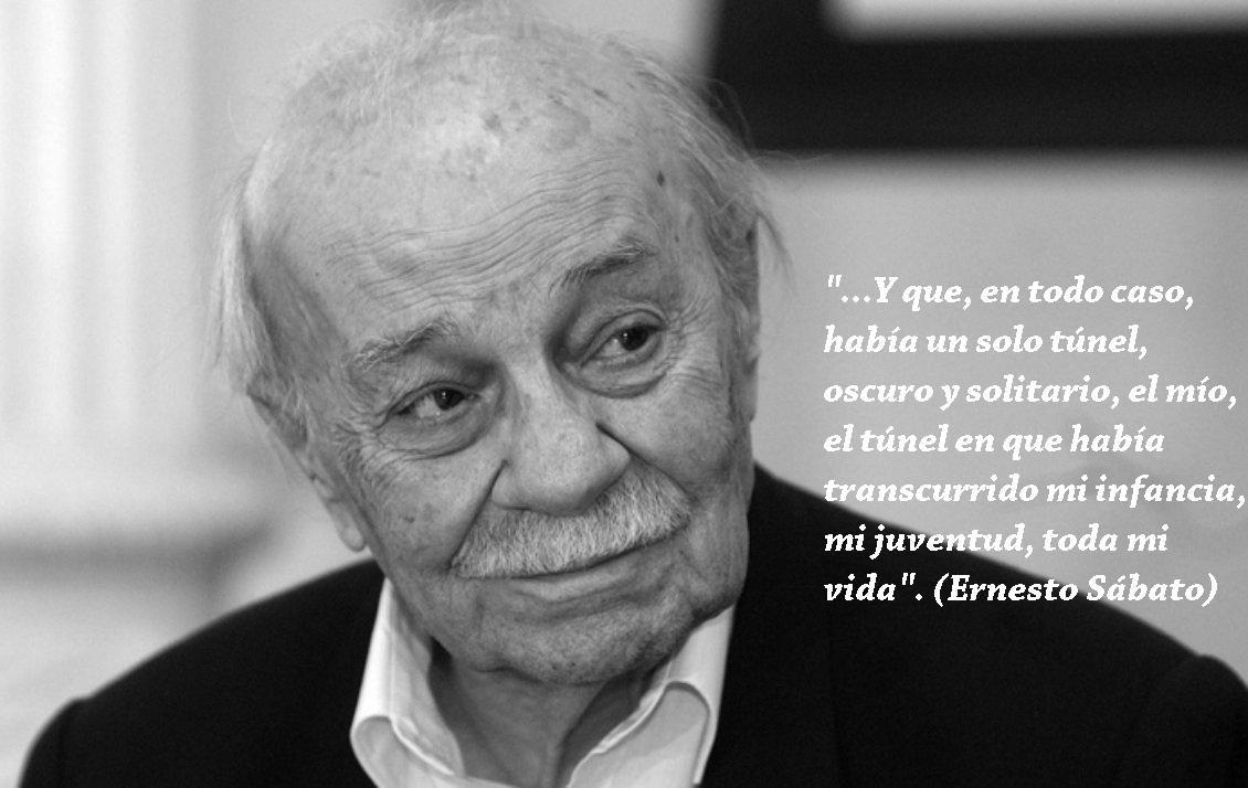 """Ernesto Sábato, escritor e intelectual argentino. Autor de """"El túnel"""", """"Hombres y engranajes"""" y """"La Resistencia"""""""
