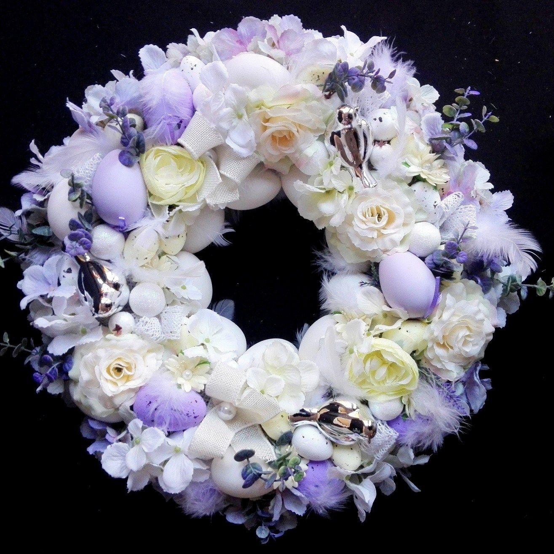 Wieniec Pogrzebowy Dla Dziecka Szukaj W Google Wreaths Hoop Wreath Home Decor
