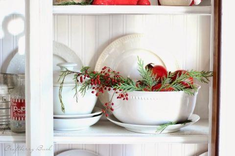 A Farmhouse Christmas – Christmas Hutch and 8 Styling Tips   Craftberry Bush