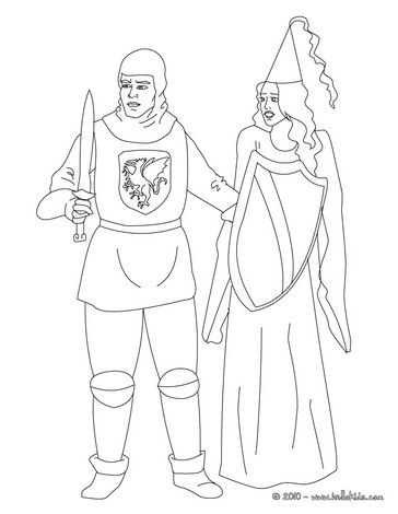 Knights Online Coloring Pages Knight And Princess Princess Coloring Pages Princess Coloring Coloring Pages