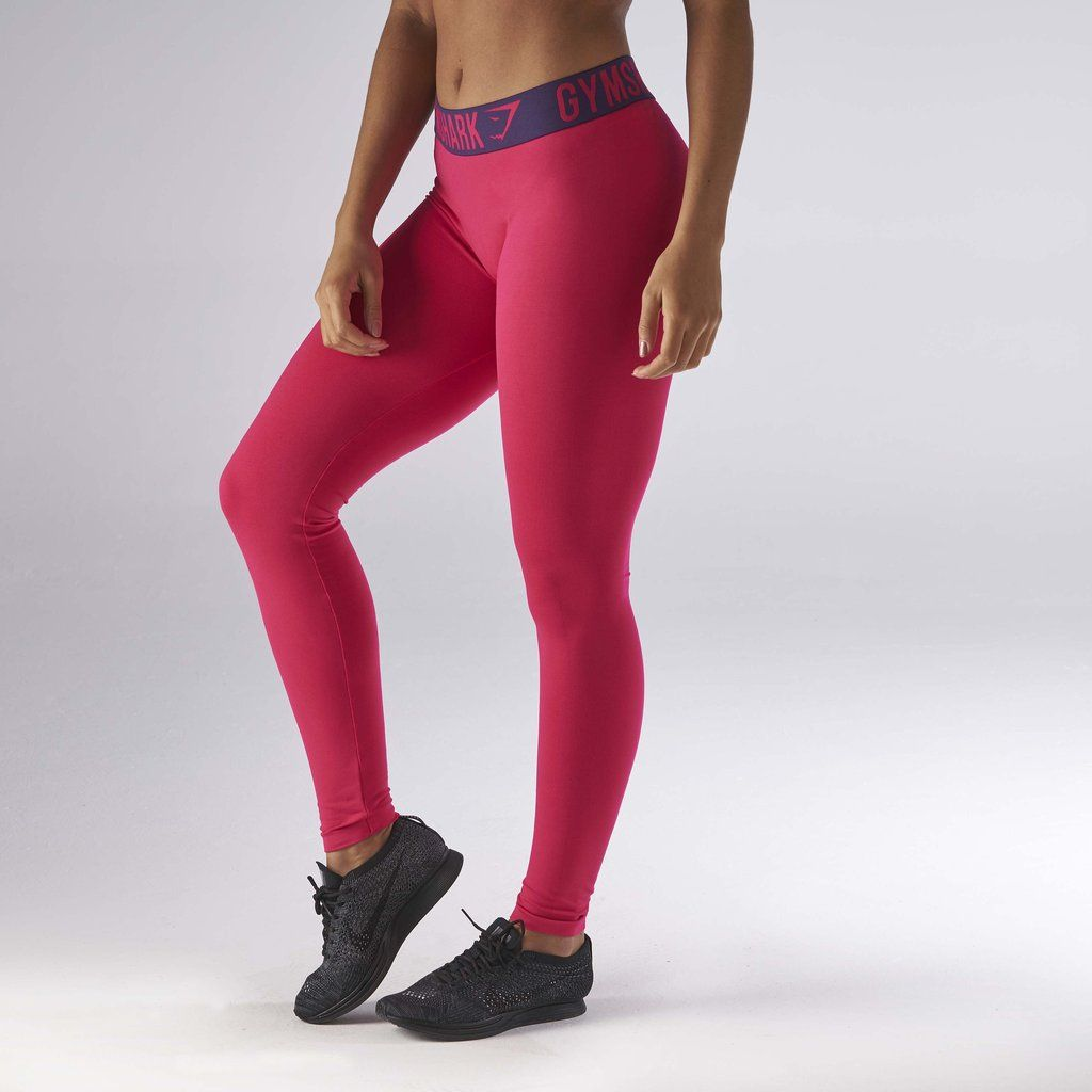 8aa10578129e7 Gymshark Fit Legging - Cranberry/Rich Purple at Gymshark | Let's ...